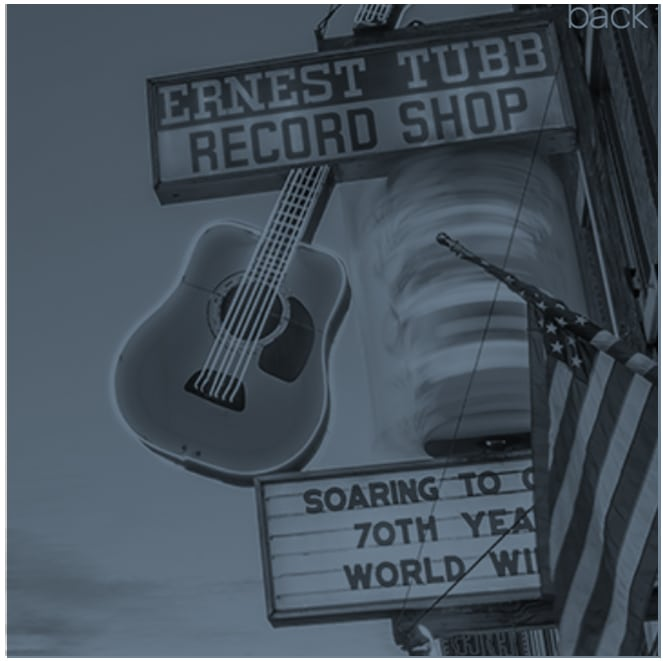 I once took a road trip to Nashville to cut a record.