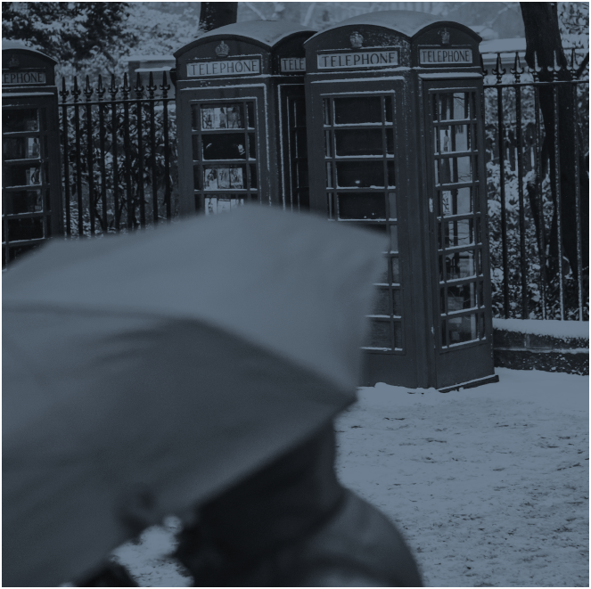 I once slept in a French phone booth to escape frigid temperatures.